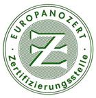 Bild Europanozert-Logo, job-konzept Zertifikate