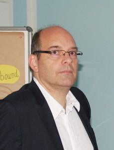 Leo Staub-Marx (Manager Human Resources SNT AG) hielt zum Tag der offenen Tür 2013 einen Vortrag bei der job-konzept GmbH