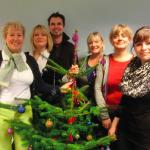 Engagement bis zum Schluss – job-konzept wünscht frohe Weihnachten!