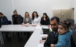 job-konzept bietet auch Deutsch für Flüchtlinge
