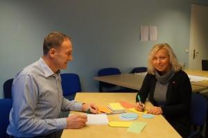 job-konzept bereitet auf AEVO Prüfung vor