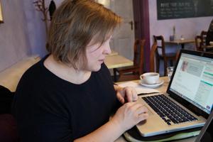 Porträt der Grafikerin von job-konzept