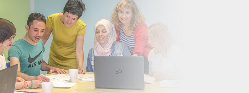 Sprache engagiert vermittelt – und Integration gelingt